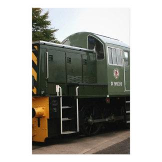 Diesel en la estación de Williton Somerset Fotos