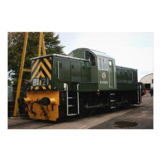 Diesel en la estación de Williton Somerset Impresiones Fotograficas