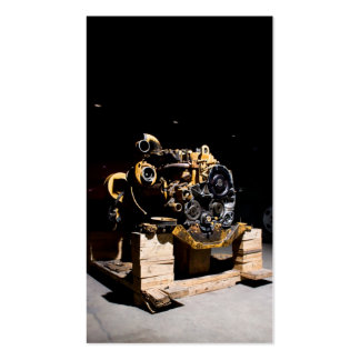 Diesel Engine Mechanic Business Card