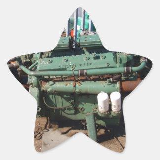 Diesel Engine Sticker