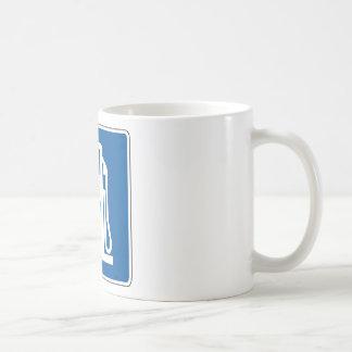Diesel Gas Street Sign Coffee Mug