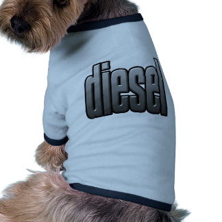 DIESEL. hardcore, strength. tough. muscle.blue Doggie T Shirt