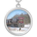 Diesel in Winter Necklace