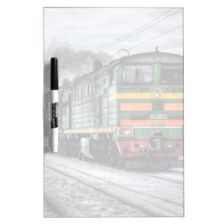 Diesel Locomotive Gifts for Train Lovers Dry Erase Board