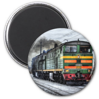 Diesel Locomotive Gifts for Train Lovers Magnet