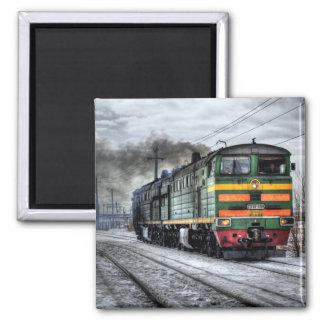 Diesel Locomotive Magnet