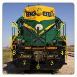 Diesel Locomotive No. 4138 Square Clock