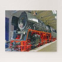 Diesel Locomotives Germany. Jigsaw Puzzle