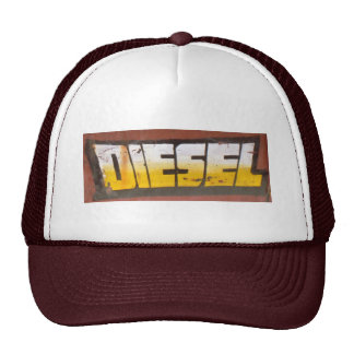 Diesel Maroon Trucker Hat