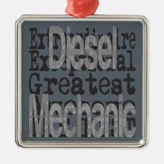 Diesel Mechanic Extraordinaire Metal Ornament