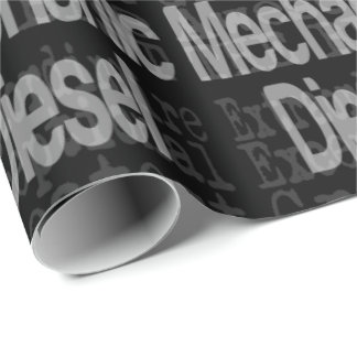 Diesel Mechanic Extraordinaire Wrapping Paper