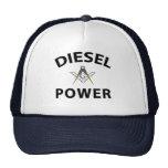 Diesel Powered Trucking Masons Hat