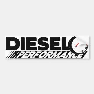 Diesel Preformance Bumper Sticker Car Bumper Sticker