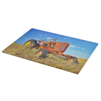Diesel Red Cutting Board Western Tractors