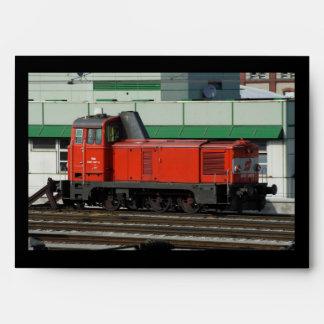 Diesel Shunter 2067 097-2 Envelope