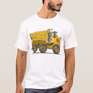 Diesel Tandem Dump Truck Construction Apparel T-Shirt