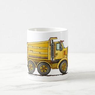 Diesel Tandem Dump Truck Construction Mugs