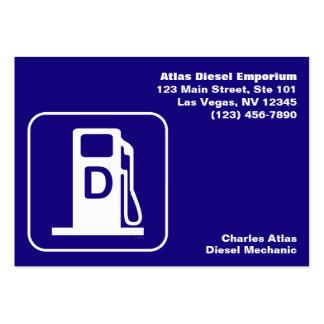 Diesel: Tarjeta de visita