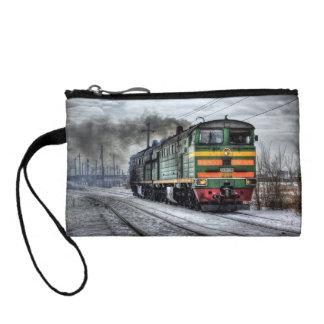 Diesel Train Locomotive Gifts Coin Wallet