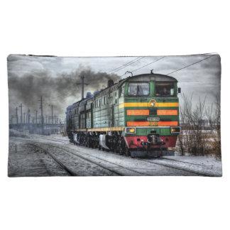 Diesel Train Locomotive Gifts Makeup Bags