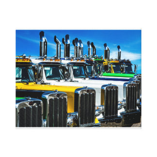 Diesel Trucks Canvas Print