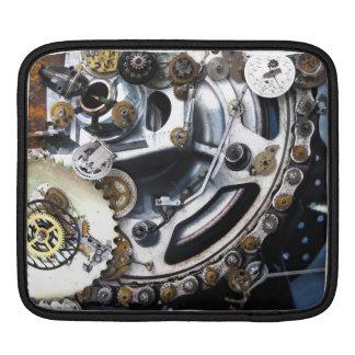 Dieselpunk Steampunk Machine with Gears iPad Sleeves