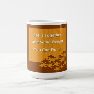 Diet and Weight Loss Get It Together Classic White Coffee Mug