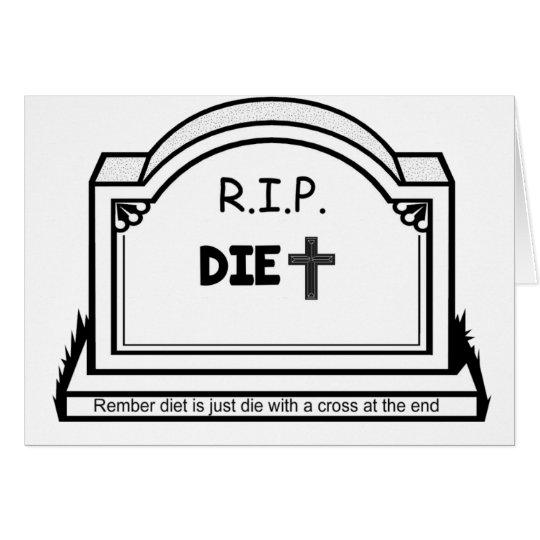 Diet Card