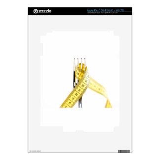 Diet concept iPad 3 decals