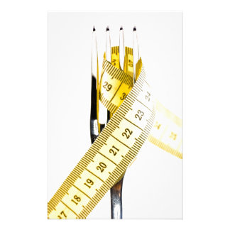 Diet concept personalized stationery