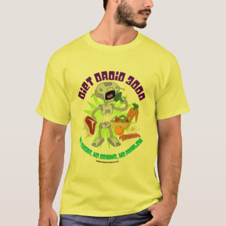 Diet Droid 3000 Robot T-Shirt