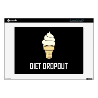 """Diet Dropout Ice Cream Decal For 13"""" Laptop"""