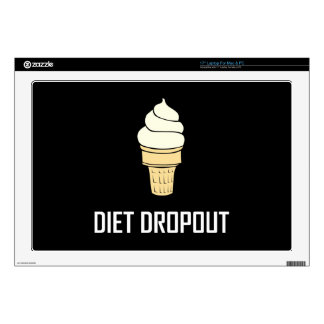 Diet Dropout Ice Cream Decal For Laptop
