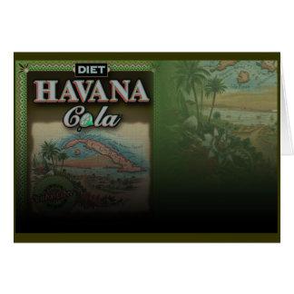 Diet Havana Cola card