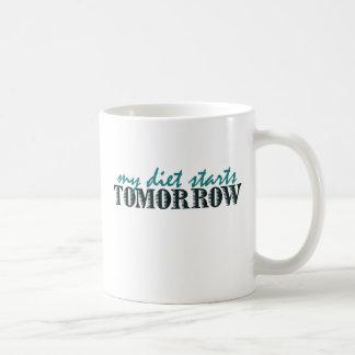 Diet humor coffee mug