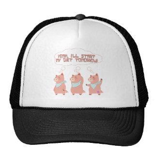 Diet Pigs Trucker Hat