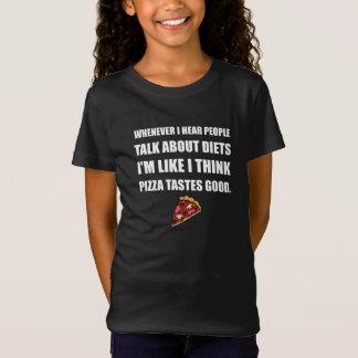 Diet Pizza Tastes Good T-Shirt