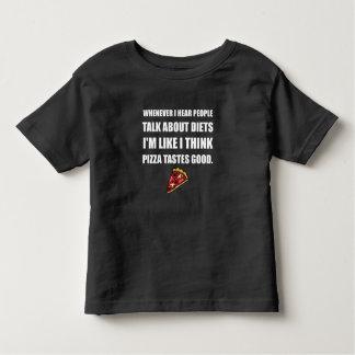 Diet Pizza Tastes Good Toddler T-shirt