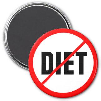 Diet Prohibited! 3 Inch Round Magnet