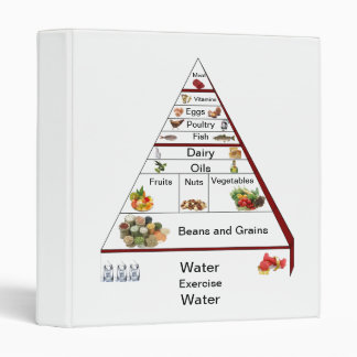 Diet Recipe Book and Tracker Binder