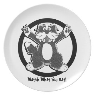 Diet Reminder Plate