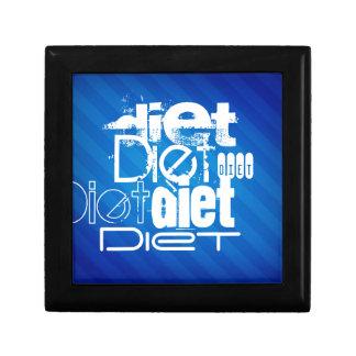 Diet; Royal Blue Stripes Gift Box