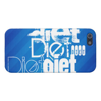 Diet; Royal Blue Stripes Cases For iPhone 5