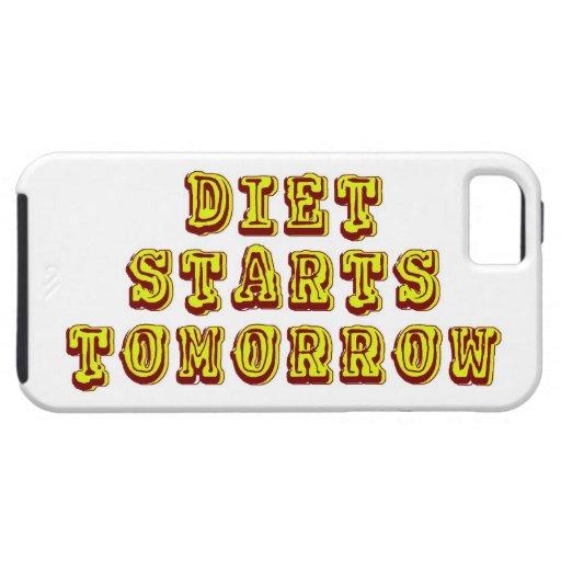 Diet Starts Tomorrow iPhone 5 Case