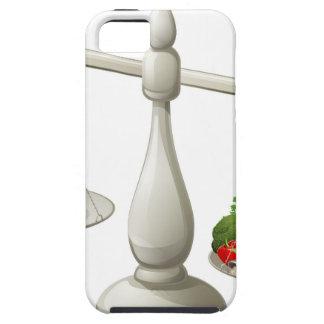 Dieta equilibrada de la consumición sana iPhone 5 Case-Mate protectores