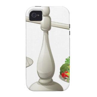 Dieta equilibrada de la consumición sana iPhone 4/4S fundas