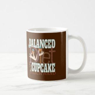 Dieta equilibrada de las magdalenas - humor sano tazas de café