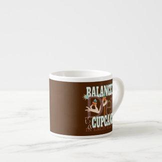 Dieta equilibrada de las magdalenas - humor sano tazitas espresso
