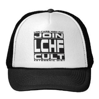 DIETA QUETOGÉNICA: ¡Únase al culto de LCHF! Gorra