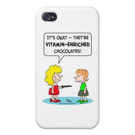 dieta vitaminada de los chocolates iPhone 4 coberturas